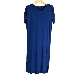 Aritzia Babaton Short Sleeve T-Shirt Maxi Dress